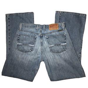 Lucky Brand Hamilton Relaxed Bootleg Bootcut Jeans